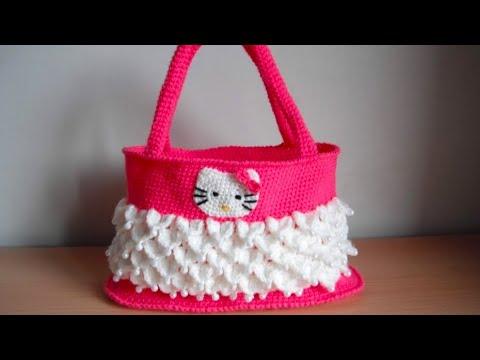 how to crochet hello kitty bag by marifu6a free pattern tutorial