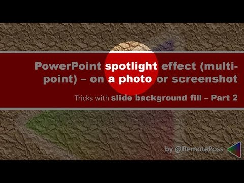 Spotlight part of a picture with PowerPoint's slide-background-fill (Part 2)