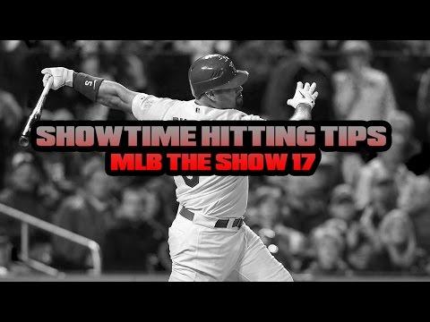 MLB THE SHOW BATTING TIPS - SHOWTIME HITTING TIPS MLB THE SHOW 17