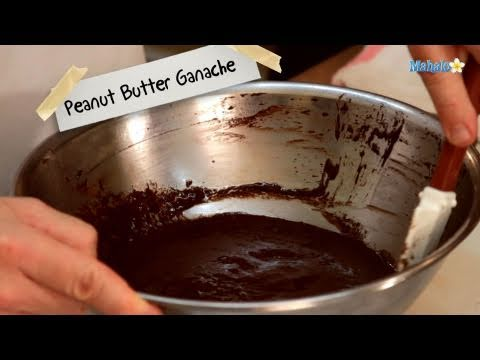 How to Make Peanut Butter Ganache
