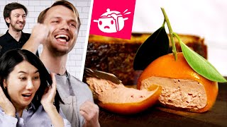 I Tried To Re-Create This Orange Made Of Meat • Eating Your Feed • Tasty