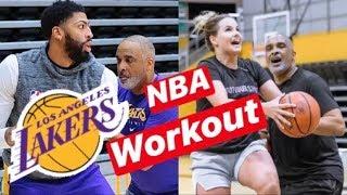 NBA WORKOUT w/LAKERS SKILLS COACH Phil Handy!! Ft. Jiggy Izzy