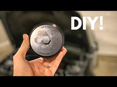 Burger Motorsports Billet Aluminum BMW Oil Filter Housing Install!