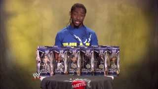 Kofi Kingston unboxes Mattel