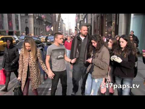 Liam Payne And Ex GirlFriend Danielle Peazer strolling on 5TH Avenue in NYC