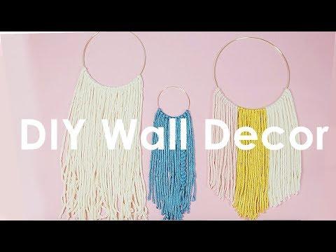 DIY Anthropologie Wall Hanging - KayleyMelissa