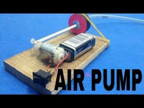 How to make a Mini Air Pump for Aquarium At Home
