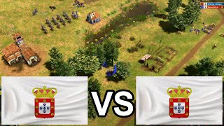 Playing the Portuguese on the GOOD OLD Great Plains! [Age of Empires 3: Definitive Edition]