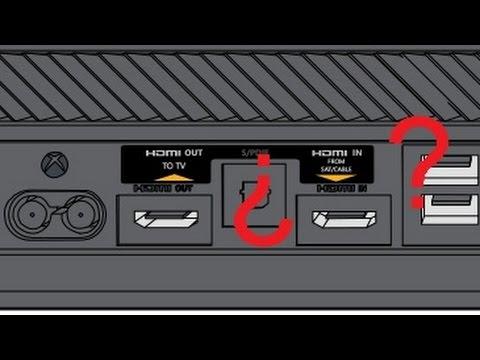 Xbox One. El segundo, ó el otro puerto HDMI. ¿Para qué sirve?