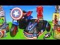 Avengers Superheroes Toys Hulkbuster Iron Man Spiderman Hulk Toy Vehicles Kids