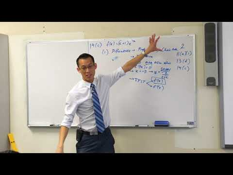 Interpreting a Graph w/ Calculus (1 of 2: Sketching the curve)