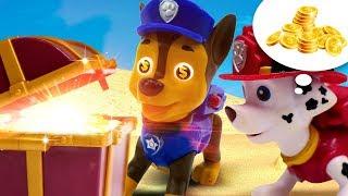 Download Видео для детей про игрушки Щенячий Патруль. Чейз и Маршал нашли клад?! Video