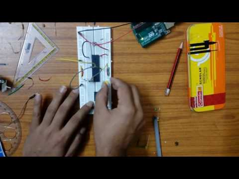 8051 microcontroller interfacing with LED,MOTOR and SWITCH