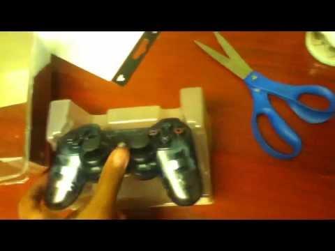 Unboxing Slate Grey seethrough PS3 Controller (WalMart Exclusive)