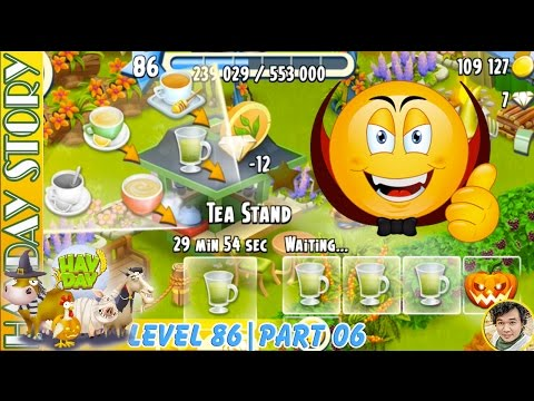 12 Diamonds To Unlock 5 Box of Tea Stand After Ending Derby Task in Hay Day Level 85   Part 06