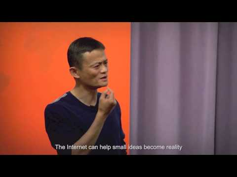 Alibaba Founder Jack Ma: Ideas & Technology Can Change the World