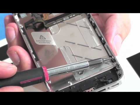 iPhone 4 Verizon-CDMA Front Screen Removal