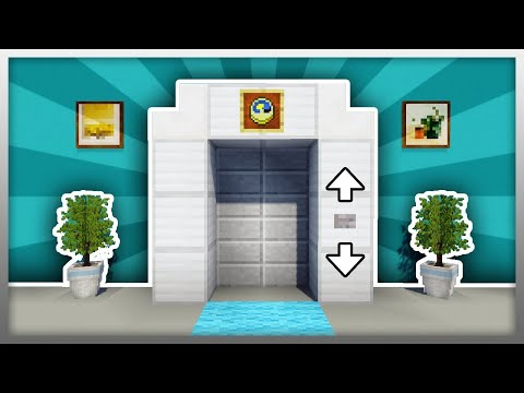 How to make elevator in Minecraft (NO MOD !!!)