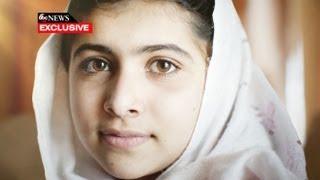 Diane Sawyer Sits Down With the Inspirational Malala Yousafzai