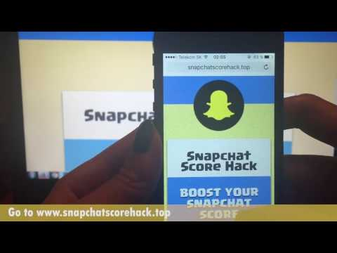 Snapchat Score Hack: How to Increase Snapchat Score FAST [+PROOF,2017]