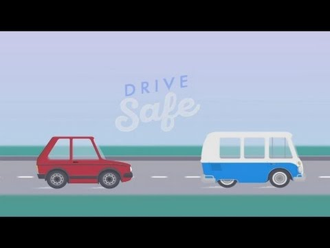 How to drive safe on roads