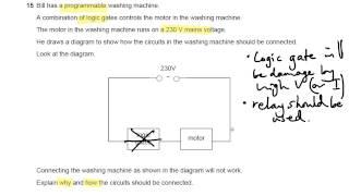 DC Circuits OCR Gateway P Q GCSE Physics Revision Tanmp - Relay switch gcse