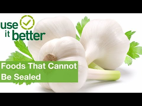 Foods That Cannot Be Sealed | Foodsaver®