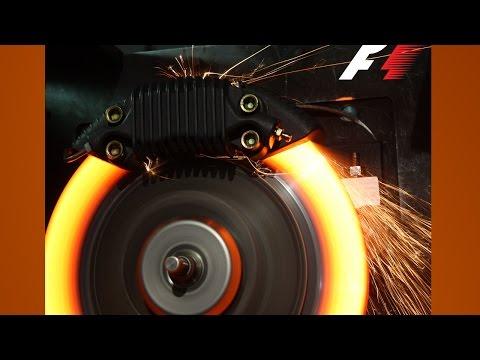 F1 Brembo Brakes Explained 2017 F1 {1080p 60fps}