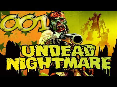 Undead Nightmare - Let's Play Red Dead Redemption Undead Nightmare #001 [German] (PS3)