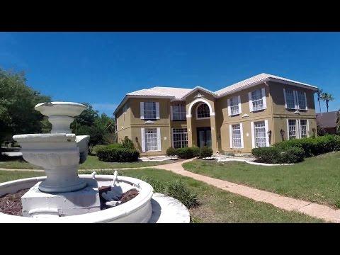 США. Заброшенные ДОМА, Bank Owned Foreclosure House, Орландо, Флорида
