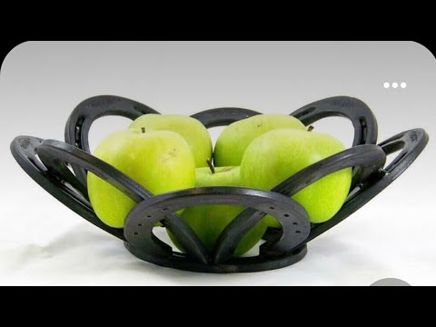 How To Weld A Horseshoe Bowl With BarbieTheWelder