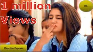 Pakistanis React To   Priya Prakash Varrier Song   💗Valentine Day Special💗   Reaction Express