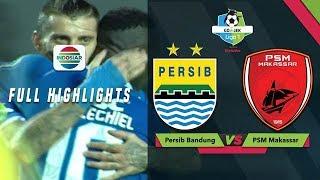 PERSIB BANDUNG (3) vs (0) PSM MAKASSAR - Full Highlights | Go-Jek Liga 1 Bersama BukaLapak