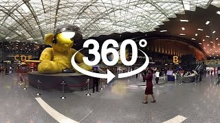 360 Tour of Doha's Hamad International Airport - Qatar Airways