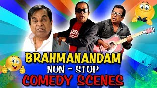 Brahmanandam Non-Stop Comedy Scenes (1 Hour) | South Indian Hindi Dubbed Best Comedy Scenes