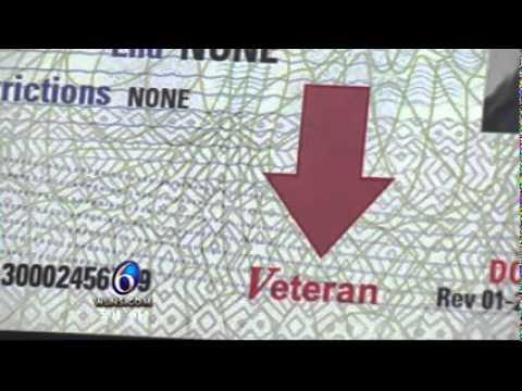 New Driver's License for Veterans - WLNS TV-6 story