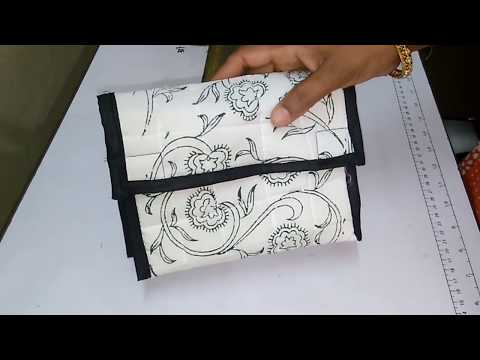 How To Make Multi Purse Fabric Purse At Home || DIY Hand Purse with Old Cloth