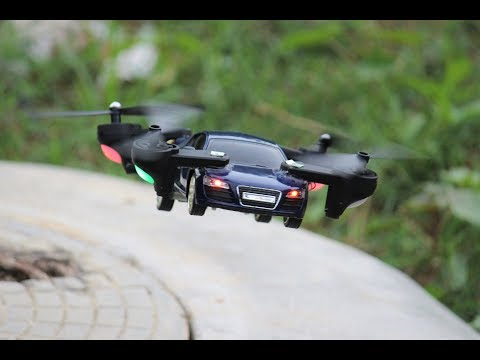 How To Make a Car That Can Fly - Car Helicopter