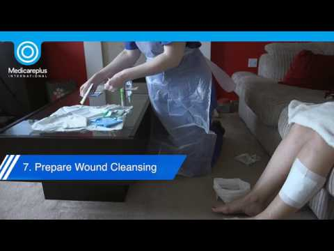 Aseptic Technique for Wound Dressing Changes