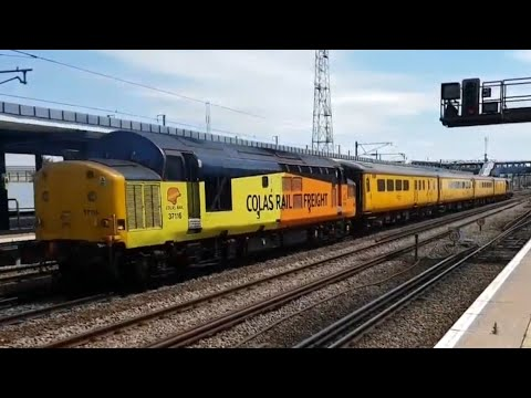 Grand Trains At: Ashford International, Kent (Southeastern, Southern, Freight) (01/06/2017)