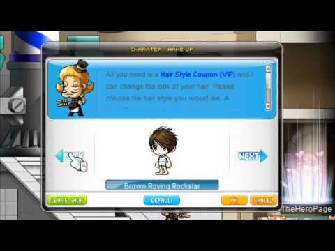 MapleStory Global All Male Hairstyles