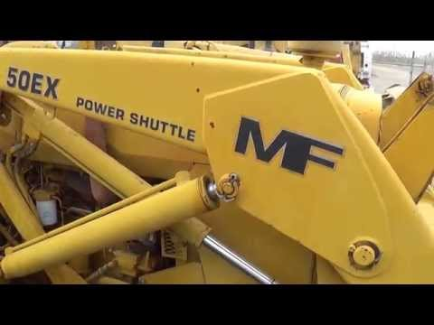 https://www.machineryindemand.com :: 1988 USED Massey-Ferguson 50EX FOR SALE
