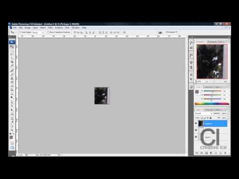 Photoshop CS3 / CS4: How to make a Polaroid image