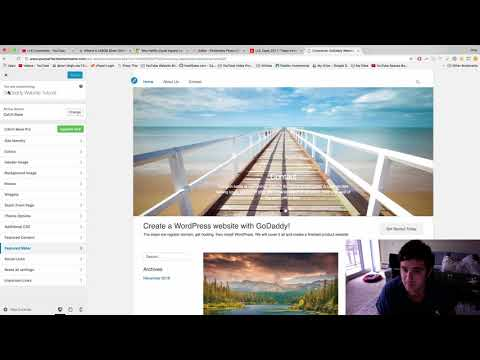 Move Text on Top of Slider - WordPress Tutorial