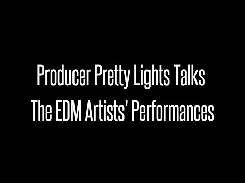 Electronic Music Producer Pretty Lights Talks Challenges in the EDM World