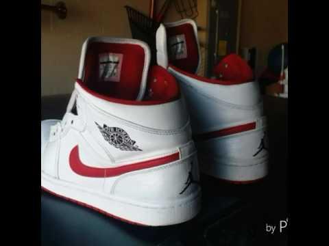 Custom air jordan retro 1 chicago ones