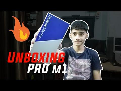 Unboxing Asus ZenFone Max pro M1 smartphone-5000 mAh battery 😳😳  ZenFone Max pro M1  Techno Buzzer