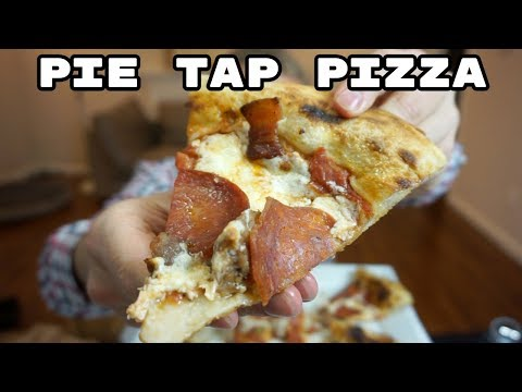 Pie Tap Pizza Workshop and Bar - Mukbang - Eating Show
