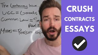 Download Contract Law Overview: What is the Gateway Issue on ALL Contracts Essays? Video