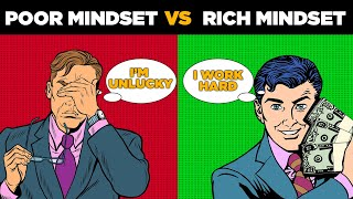 Poor Mindset vs Rich Mindset | Secrets of Millionaire Mind Book Summary